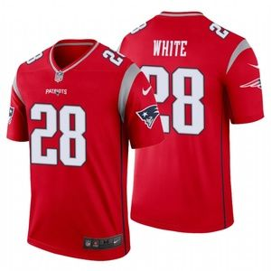 Men James White #28 New England Patriots Jersey